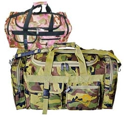 Camo Travel Duffel