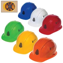 Cap Style Hard Hat with 6-Point Pinlock Suspension