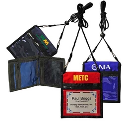 Deluxe Two-Way Badge Holder