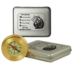 Desk Compass in Tin Box