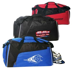 Large Gym Bag with Shoe Tunnel