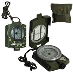 Metal Prismatic Compass-Military Model