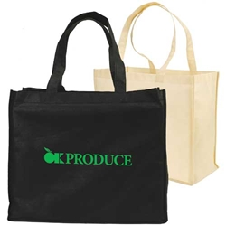Non-Woven Full Gusseted Shopping Tote