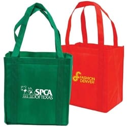 Non-Woven Shopping Tote with Cardboard Bottom