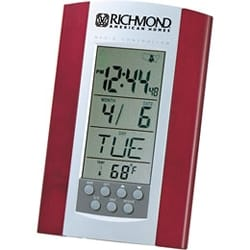 Radio Controlled Clock with Calendar & Thermometer